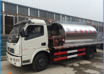 China factory hot sale 4.6cbm Asphalt Spray truck 4ton small Asphalt Distributor for road with low price