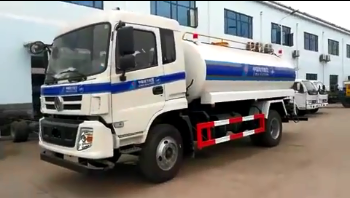 Chinese manufacture small 4*2 12000 liter water tank truck
