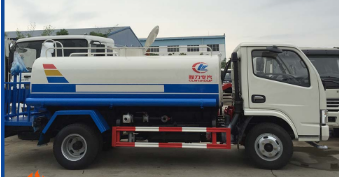 dongfeng 5000 litres 4x2 water tanker truck for sale