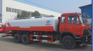 Best quality 6x4 Dongfeng 210HP water tank trucks with best selling price